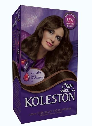 Koleston Koleston Kit Saç Boyası 5/37 Kışkırtıcı Kahve Renkli